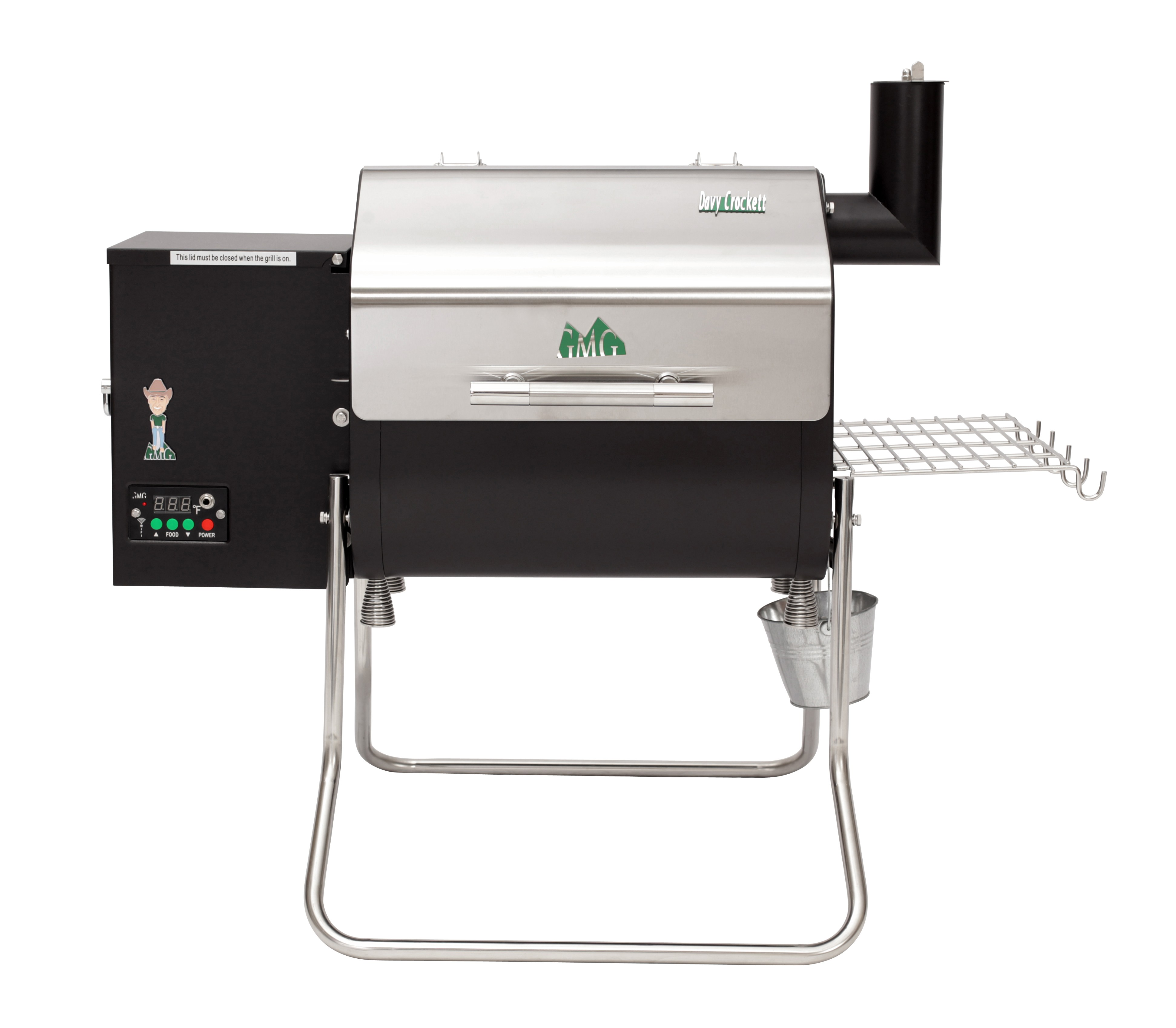 Davy Crockett GM Grill Available at Warming Trends