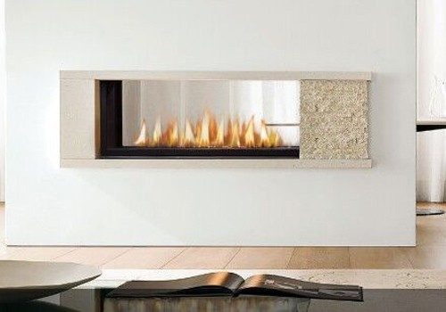 Marquis Infinite See Through Gas Fireplace