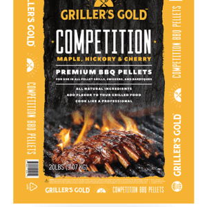 Competition BBQ Pellets Available at Warming Trends