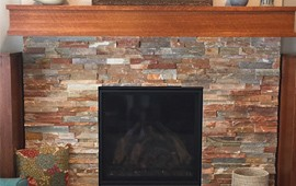 Fireplace Finishes at Warming Trends in Onalaska, WI