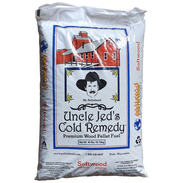 Uncle Jed's Softwood Heating Pellets