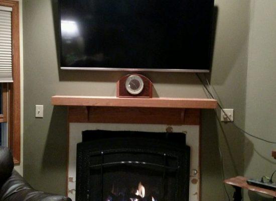 Kingslein Archgard 72 Gas Fireplace In Progress