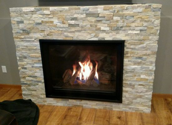 Steine Valor H6 Gas Fireplace