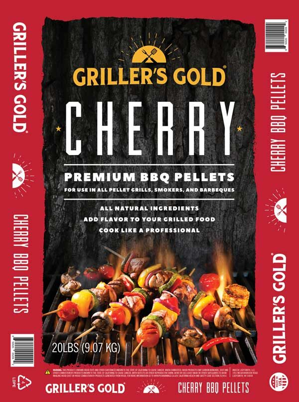 Griller's Gold BBQ Pellets - Cherry