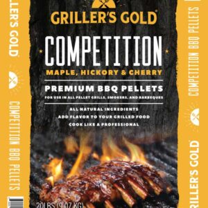 Griller's Gold BBQ Pellets - Competition
