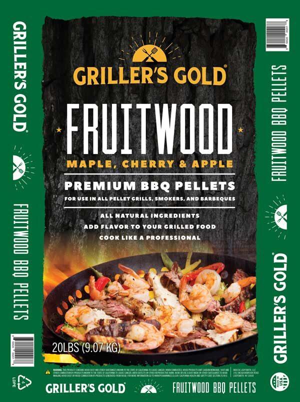 Griller's Gold BBQ Pellets - Fruitwood
