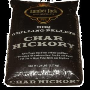 Lumber Jack BBQ Pellets - Char Hickory