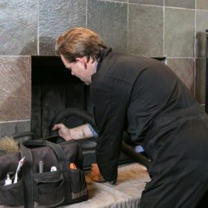 Gas Stove or Fireplace Cleaning