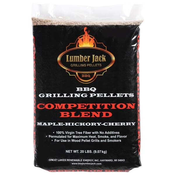 Lumber Jack BBQ Pellets - Competition Blend