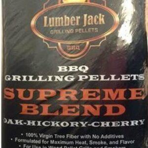 Lumber Jack BBQ Pellets - Supreme Blend